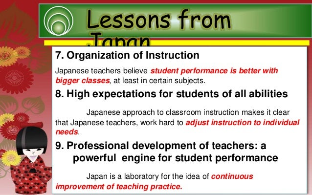report education system in japan 2007-3-30  japan needs to improve english education system by shinichiro noriguchi (china daily) updated: 2007-03-30 06:39  to further improve english education in japan.