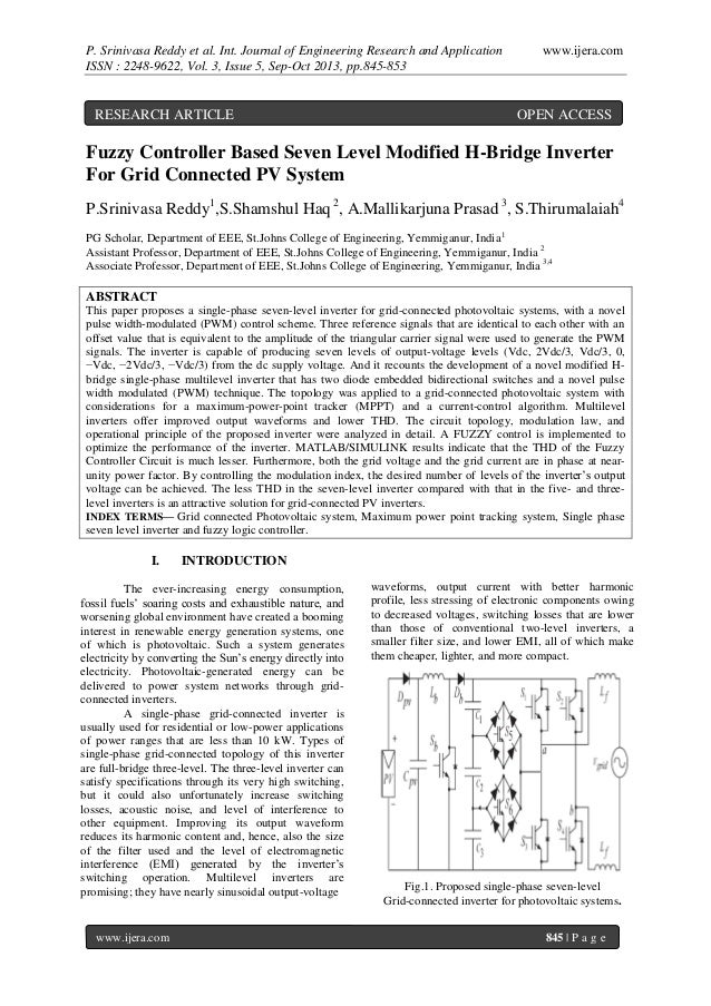 P. Srinivasa Reddy et al. Int. Journal of Engineering Research and Application ISSN : 2248-9622, Vol. 3, Issue 5, Sep-Oct ...