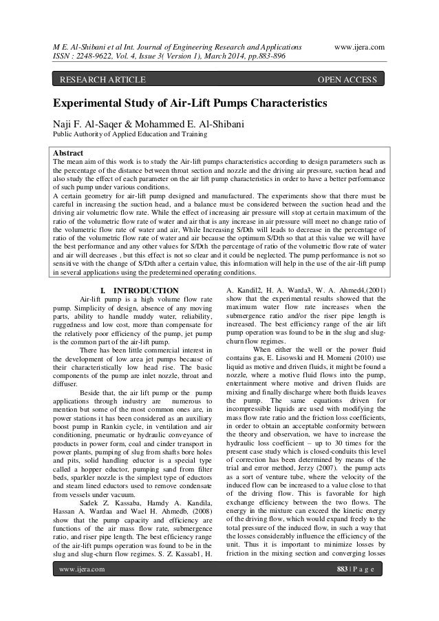 M E. Al-Shibani et al Int. Journal of Engineering Research and Applications www.ijera.com ISSN : 2248-9622, Vol. 4, Issue ...