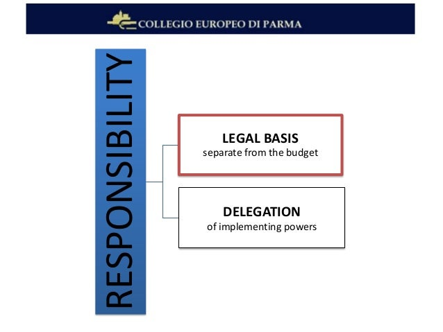 the delegation of discretionary powers B regulation and institutional balance there is no doubt that institutional balance plays a major role in the regulatory process and in the delegation of powers of this type as mentioned above, the meroni doctrine has a special place in this issue at community level.