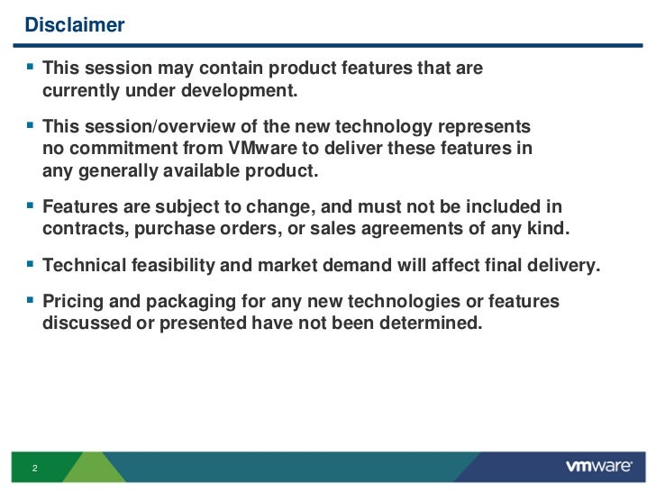 VMware View - PCoIP Performance & Best Practices Slide 2