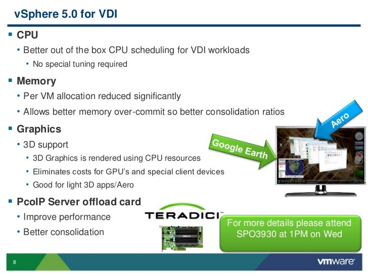 PCoIP and More - VMware View - Performance and Best Practices