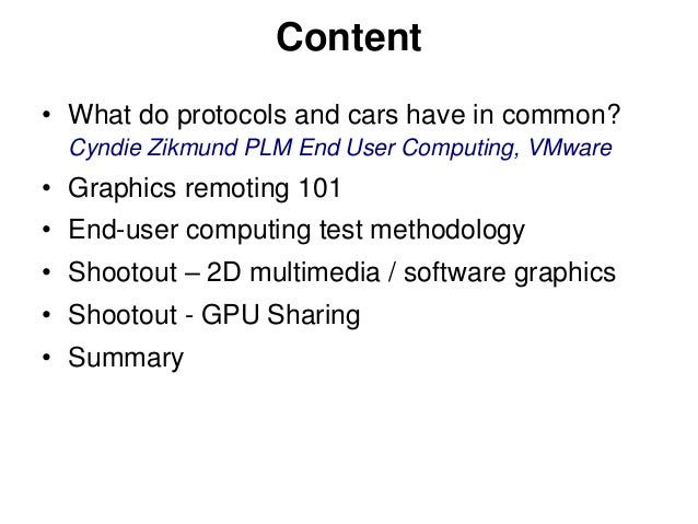 VMworld 2013: How Good is PCoIP - A Remoting Protocol Shootout