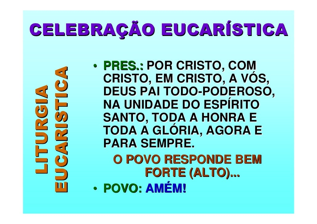 Preferência Eucaristia Ceia do Senhor FQ06