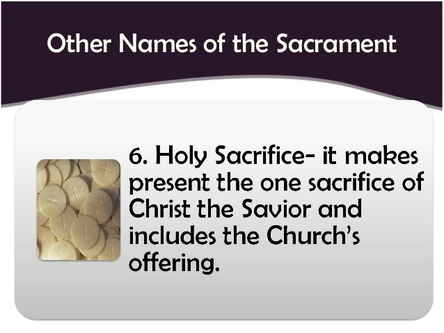 3 views of the eucharist Second, did early christians view the eucharist as a propitiatory sacrifice or put  another way, did they view it in the terms articulated by the.
