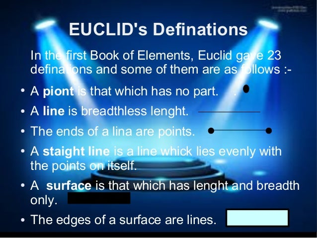 an analysis of magnitudes and numbers in euclids elements Porisms might have been an outgrowth of euclid's work with conic sections, but the exact meaning of the title is controversial pseudaria, or woman teaching geometry, illustration at the beginning of a medieval translation of euclid's elements (c 1310) book 5 is a treatise on proportions of magnitudes.