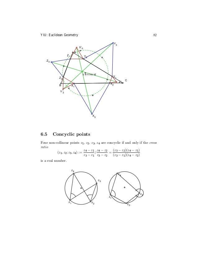 Euclidean geometrynotes
