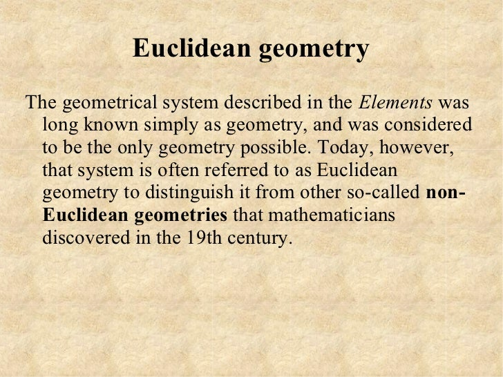 project euclid Euclid.
