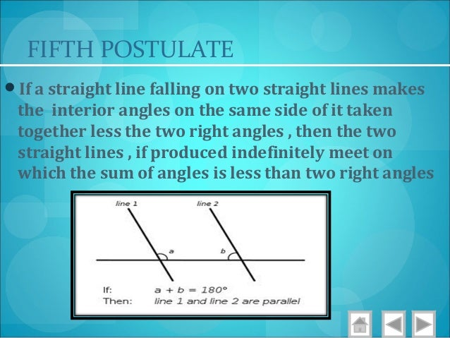 Mindset learn euclidean geometry postulates