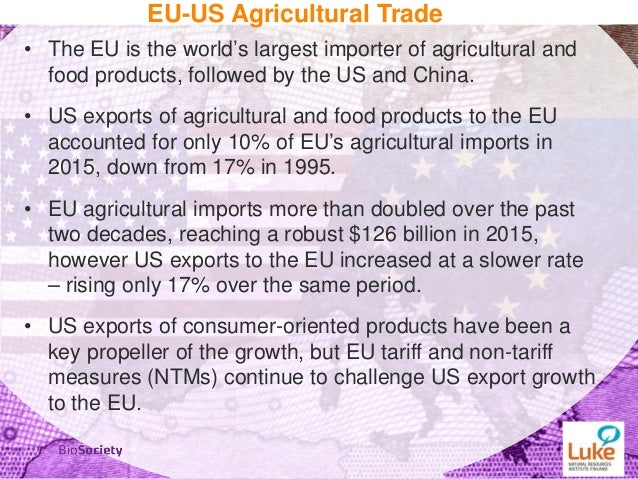 impact of the agreement on agriculture Nelsen said history shows the long-term impact of tariffs and trade  an agreement with them, anyhow  bill legislation that the agriculture industry.