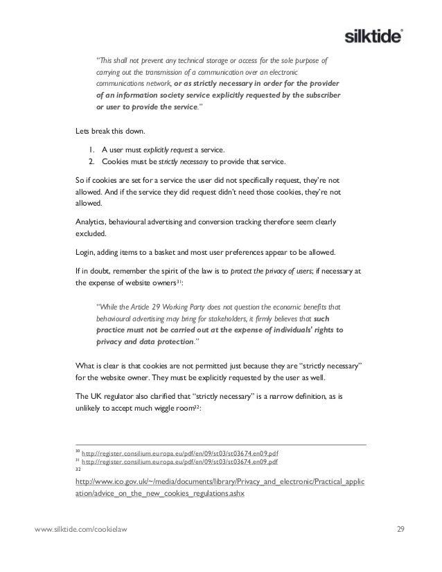 Eu cookie directive ebook 29 fandeluxe PDF