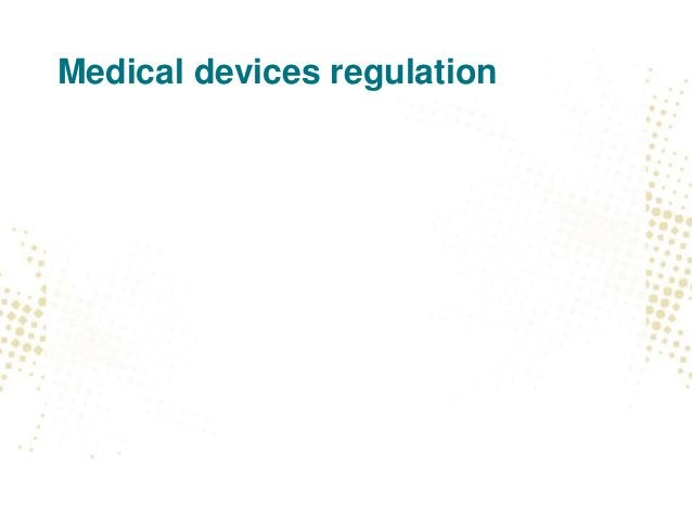 Current rules • Simple yet complex, because security is matter of • risk management under medical devices rules (EN ISO 14...