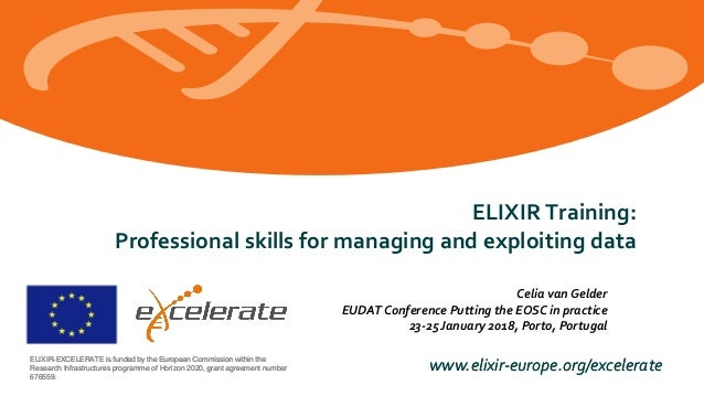 Elixir Training: Professional skills for managing and