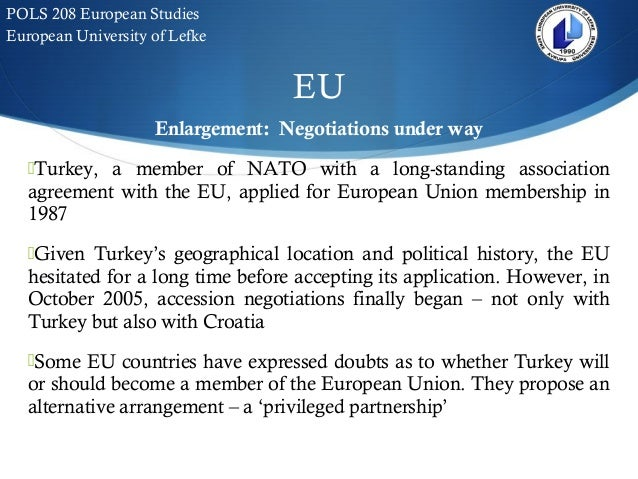 """turkey should join the european union essay We believe that universities should be involved and contribute to """"big ideas""""   in more than twenty short essays this report provides tested evidence  benefits  to the uk from eu membership can be argued positively  turkey's possible  accession moves the external frontier of europe further eastwards."""