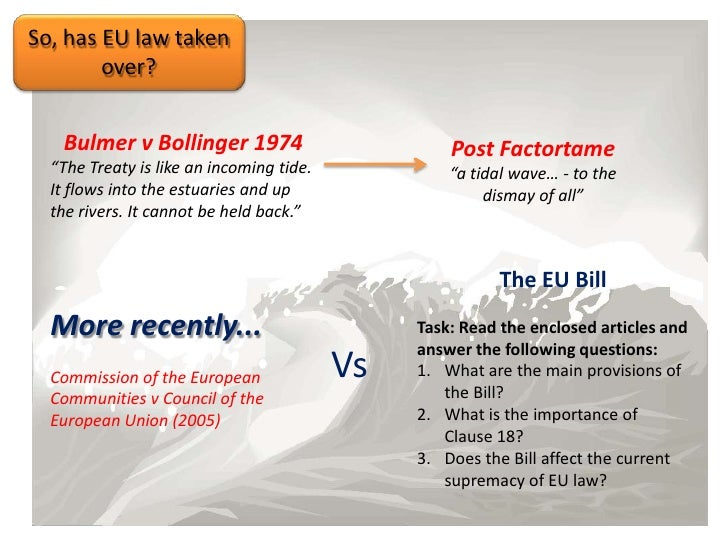 eu law an incoming tide This essay has been submitted by a law student this is not an example of the work written by our professional essay writers european court of justice.