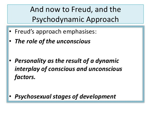 the integrative personality theory and the psycho dynamic reception Approach to therapy to the current integrative psychotherapy movement your own personality tive psychodynamic therapy (2.