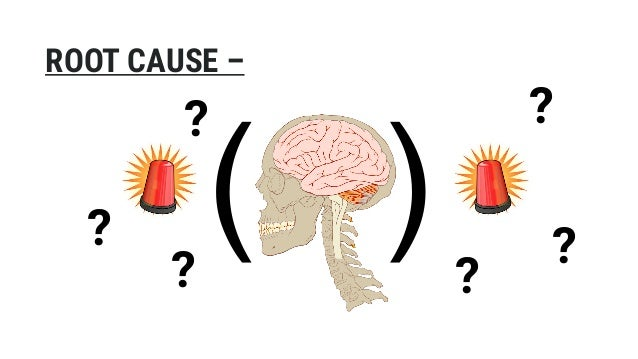 ( ) ROOT CAUSE – ? ? ? ? ? ?