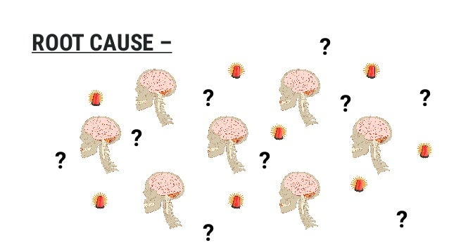 ROOT CAUSE – ? ? ? ? ? ? ? ? ?
