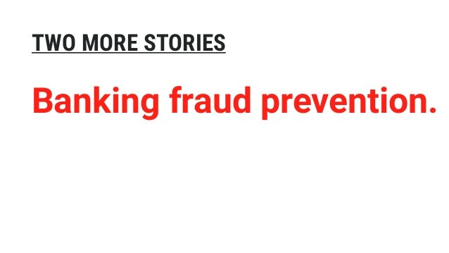 TWO MORE STORIES Managing risk for real.
