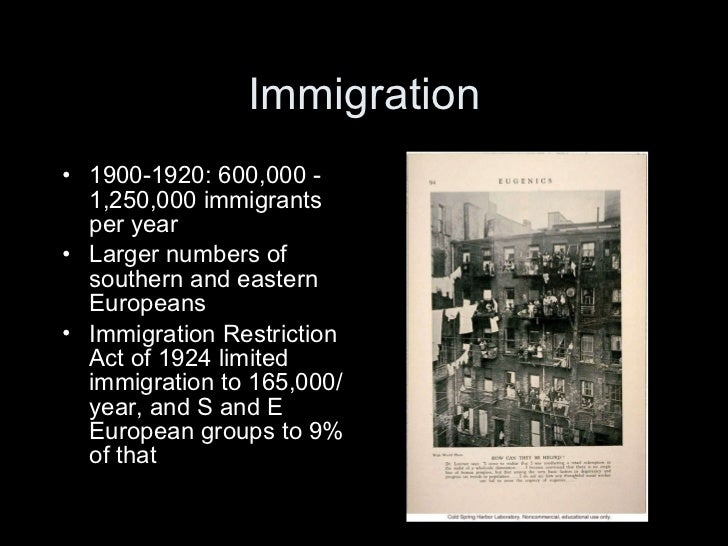 "the immigration act of 1924 essay Summarize the main purpose of the immigration act of 1924 state the primary focus of the us antiterrorist policy today define ""right-wing terrorists"" and give an."