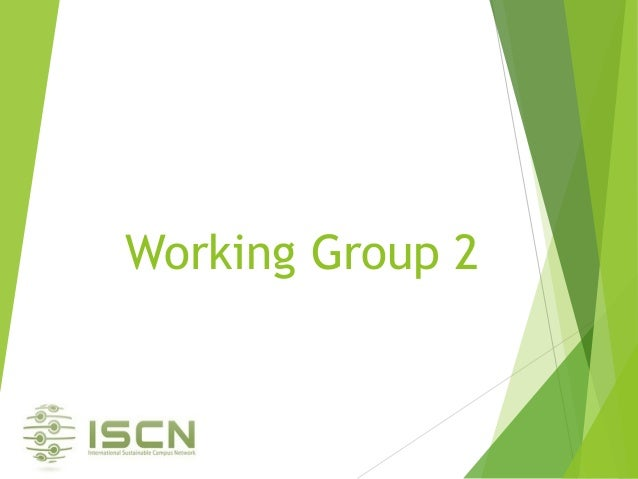 Working Group 2