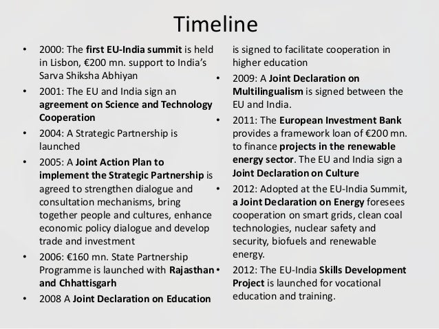 eu and india relationship