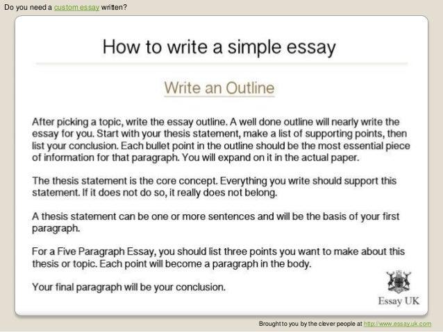 How to write a essay yelom agdiffusion com