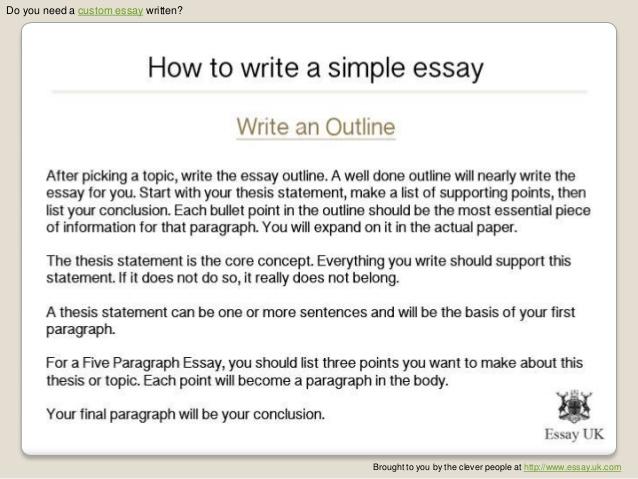 How to write good essay