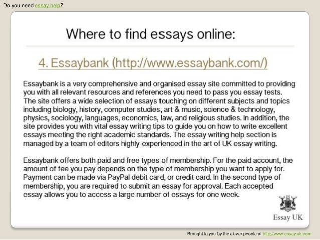 Essays online to buy free