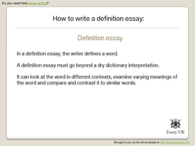 how to write a definition essay  2 do you need help essay writing