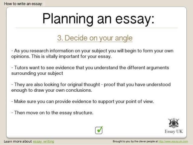 tutor essay Marking and commenting on essays chapter 6 tutoring and demonstrating: a handbook 53 some students are alert to these subtleties of phrasing and direct their thinking accordingly.