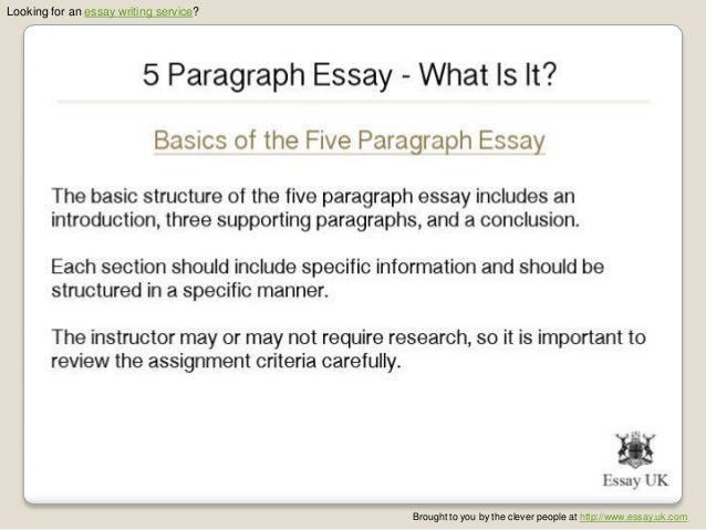 basics of a 5 paragraph essay How to write a perfect five paragraph essay posted on 5-14-12 9-10-13 by emilylevy do you find that your child has interesting, smart, and creative ideas but.