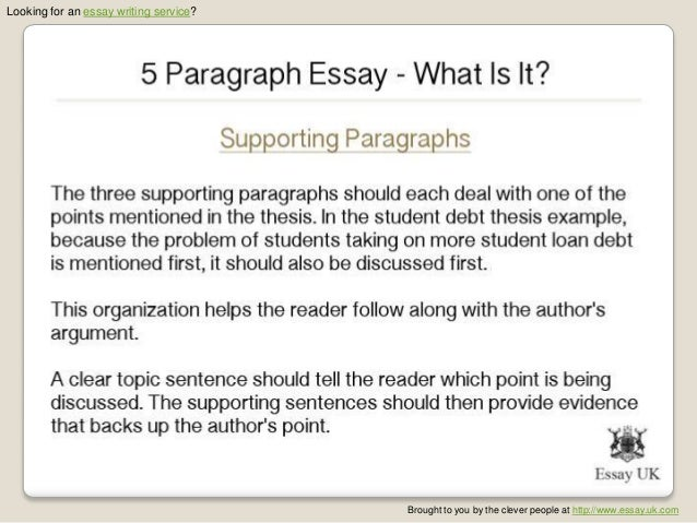 paragraph essay what is it   5