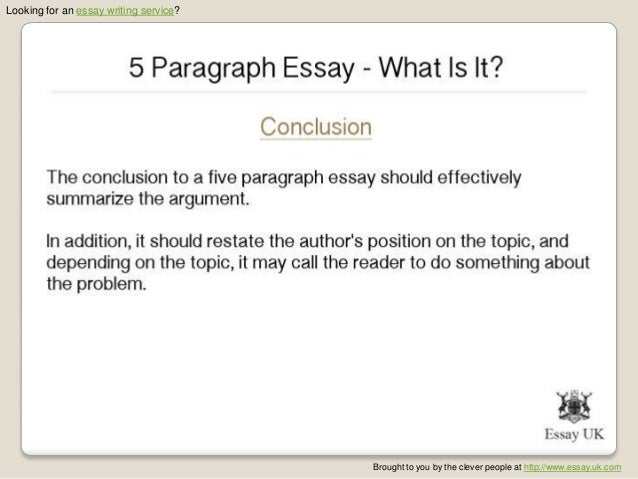paragraph essay what is it