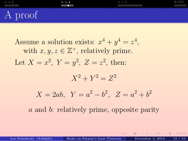 The Proof of Fermats Last Theorem