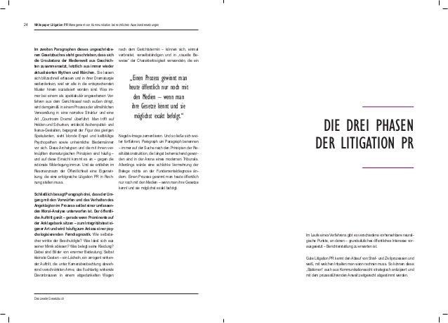 24 Im zweiten Paragraphen dieses ungeschriebe- nen Gesetzbuches steht geschrieben, dass sich die Ursubstanz der Medienwelt...