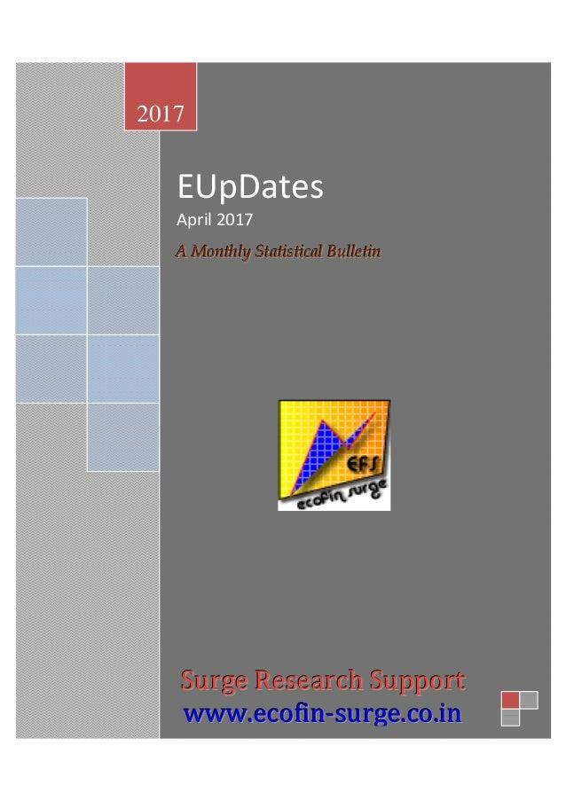 EUpDates April 2017 AAA MMMooonnnttthhhlllyyy SSStttaaatttiiissstttiiicccaaalll BBBuuulllllleeetttiiinnn 2017 SSSuuurrrggg...
