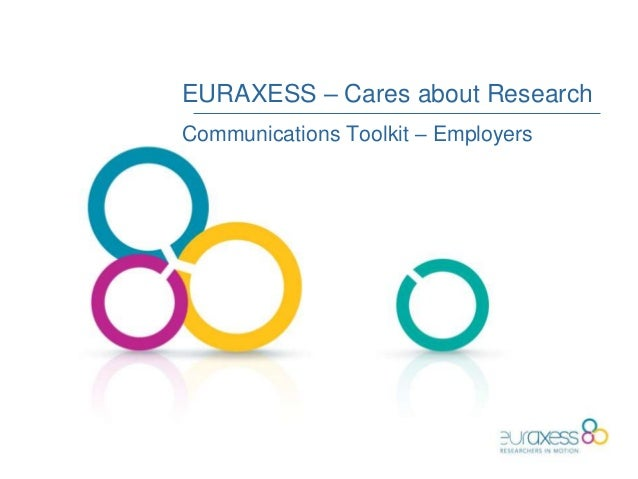 EURAXESS – Cares about Research Communications Toolkit – Employers