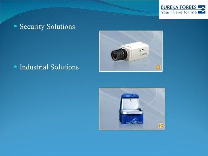 <ul><li>Security Solutions </li></ul><ul><li>Industrial Solutions </li></ul>