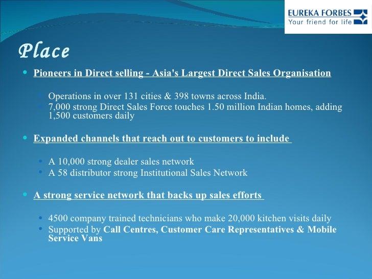 Place <ul><li>Pioneers in Direct selling - Asia's Largest Direct Sales Organisation </li></ul><ul><ul><li>Operations in ov...