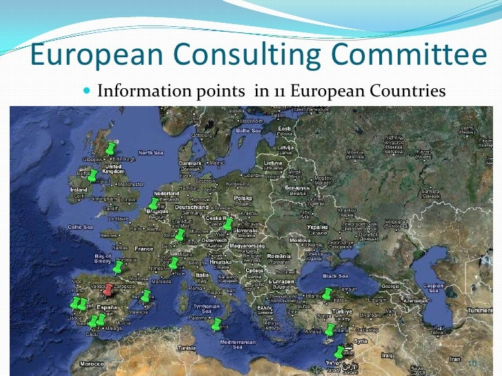 European Consulting Committee    Information points in 11 European Countries                                             ...