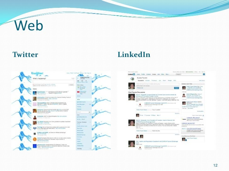 WebTwitter   LinkedIn                     12
