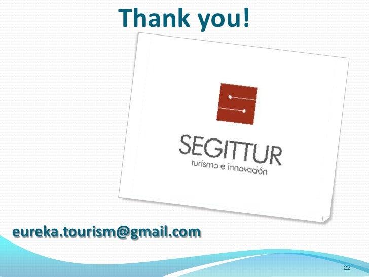 Thank you!eureka.tourism@gmail.com                           22