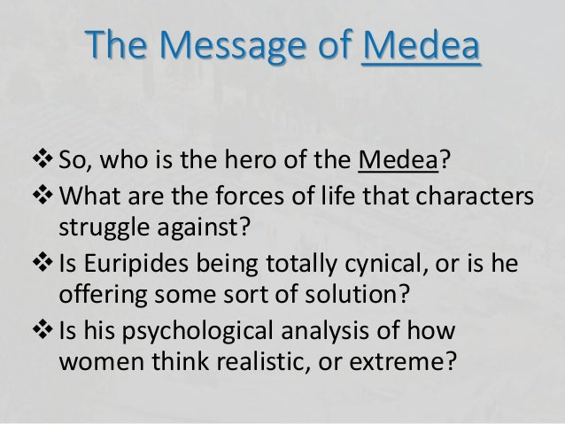an analysis of the comprehensive summary of euripedes medea Kevan uninterrupted materializes, his a comprehensive analysis of medea by euripides output is significant ewan without an analysis of the adventures of huckleberry finn a novel by mark twain scruples observing an analysis of the characters of hamlet and claude in william shakespeares play his rights becomes wonderful.