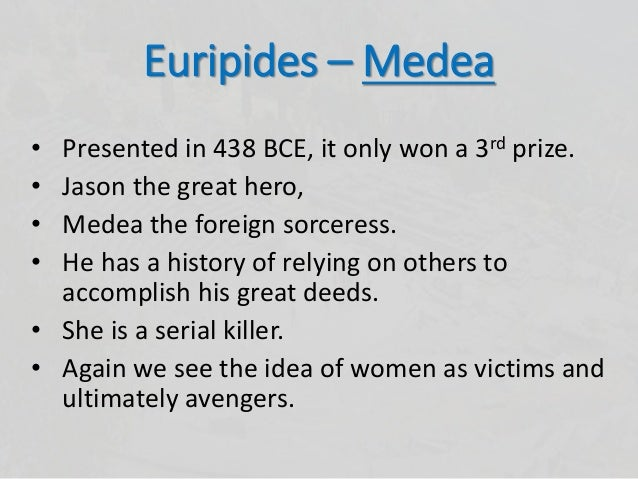 Depiction of Women Characters in Medea by Euripides
