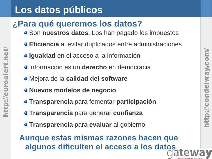 Open Data: Modelos de negocio de la reutilización de información del sector público Slide 3
