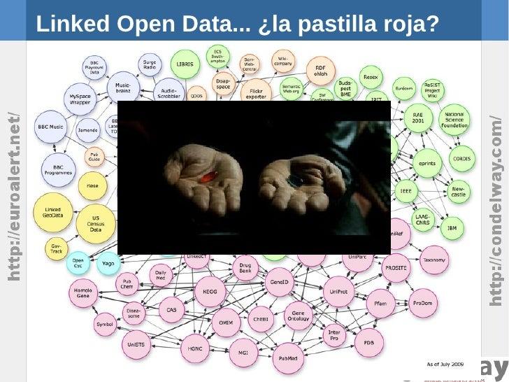 Linked Open Data... ¿la pastilla roja?