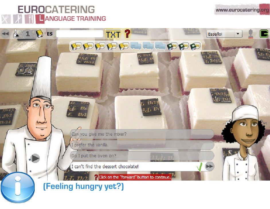 Eurocatering language training quick tour for Plenty of fish customer service manager