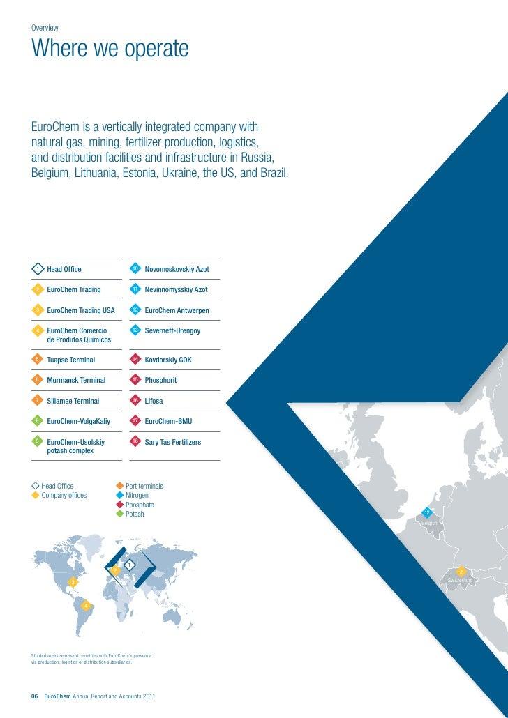 EuroChem Annual Report 2011