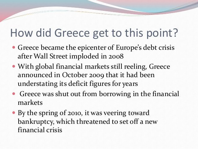 Cont ..  To avert calamity , the International Monetary Fund, the European Central Bank and the European Commission — iss...
